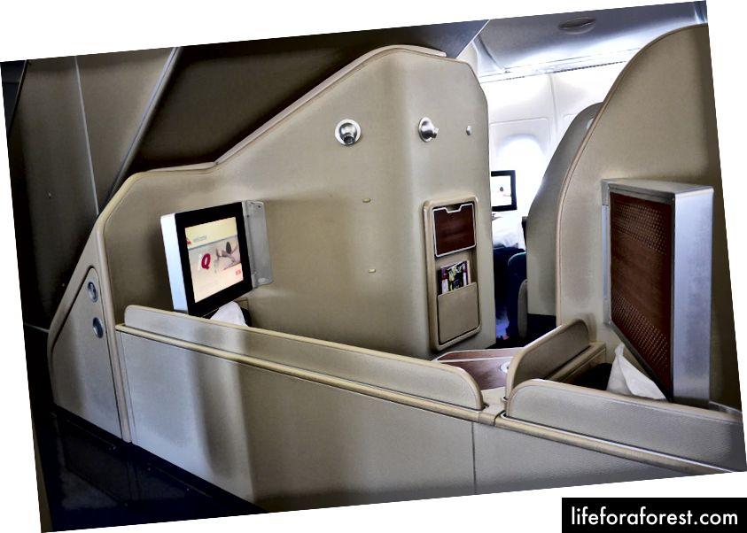 Qantas A380 hạng nhất