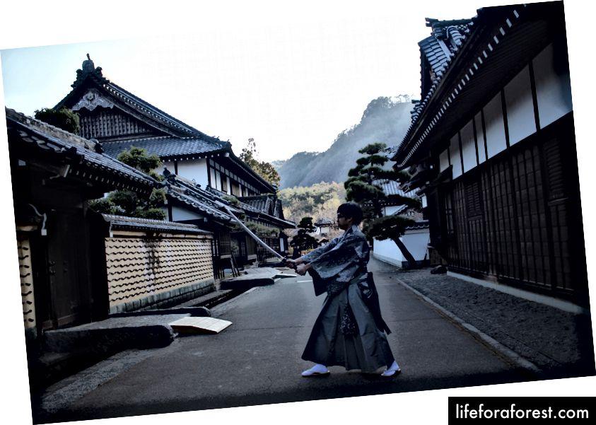 Đây là tôi sau khi xem bộ phim Samurai cuối cùng