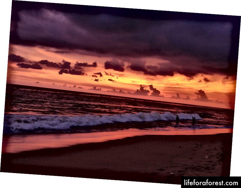 Thumba-stranden ligger bare 4,5 km unna