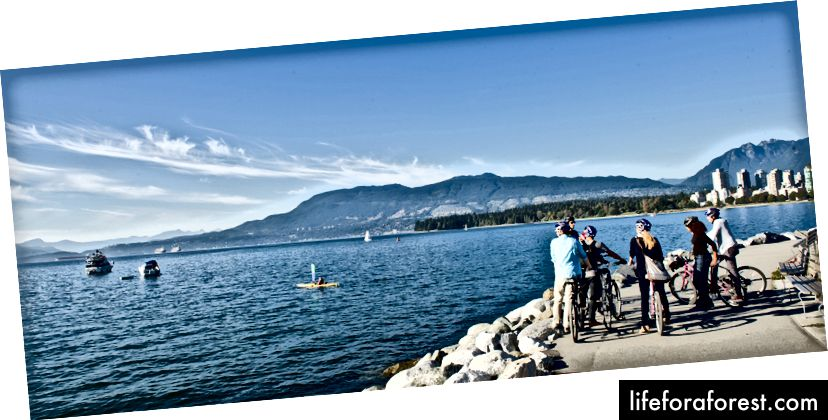 Bilde: Turisme Vancouver / Cycle City Tours