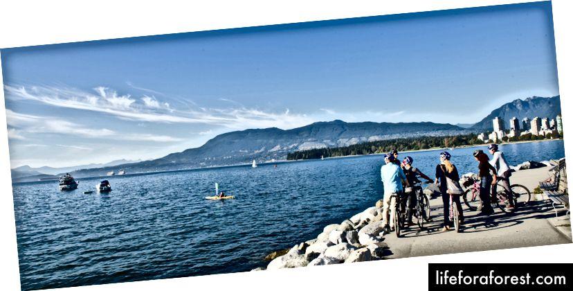 Hình: Du lịch Vancouver / Chu kỳ tham quan thành phố
