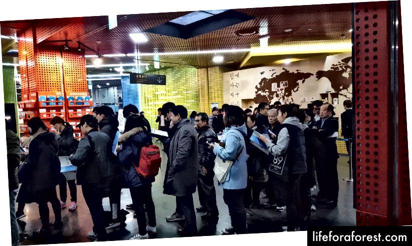 Ticket Outlets i Sør-Korea er en av tre måter å kjøpe OL-billettene på når du ankommer.