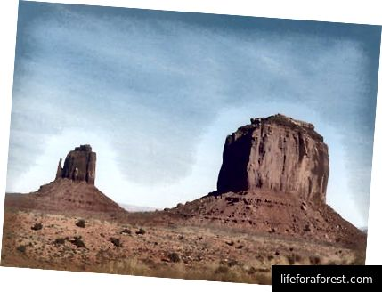 Monument Valley gần Four Corners [Ảnh Shay]
