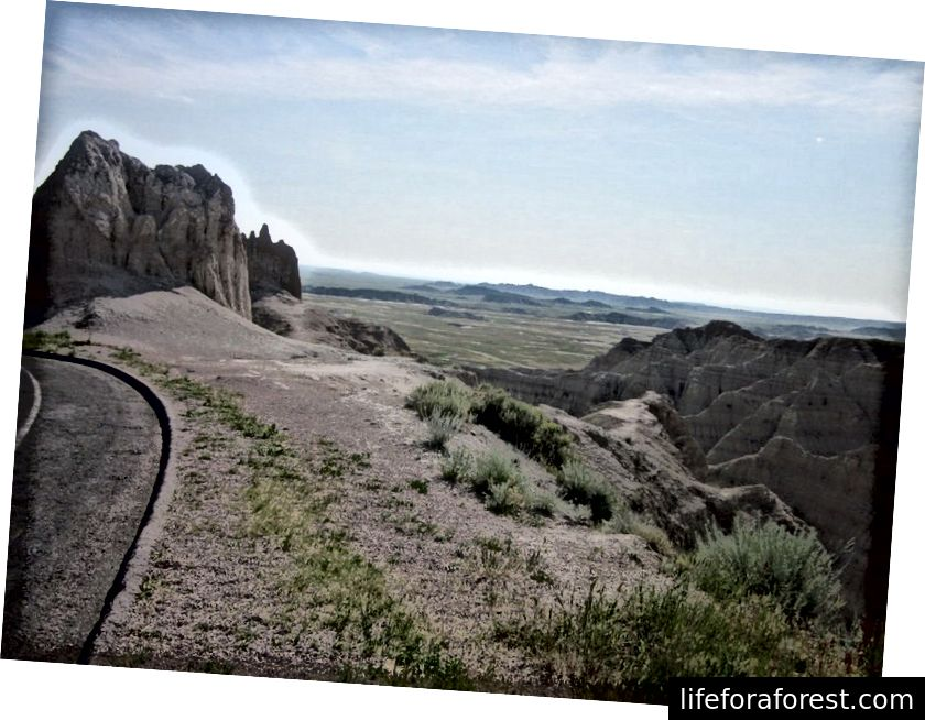 Badlands, Nam Dakota [Ảnh Shay]