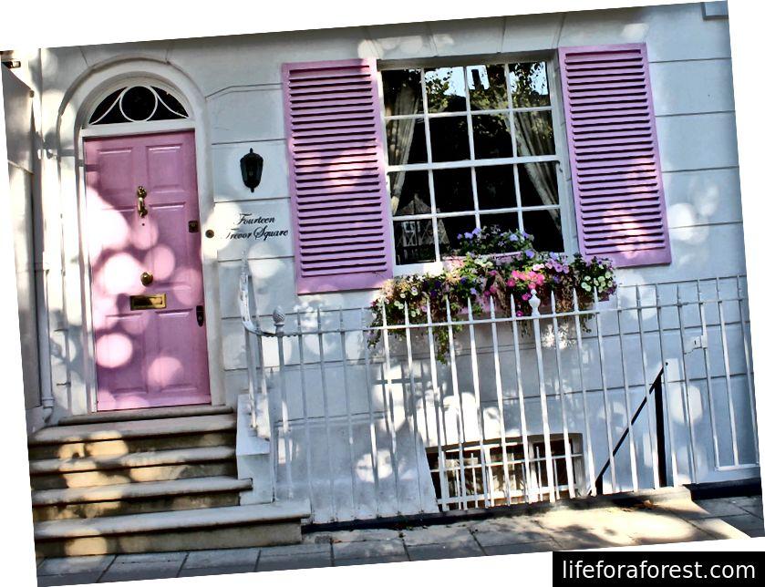 Trevor Square Pink Door House