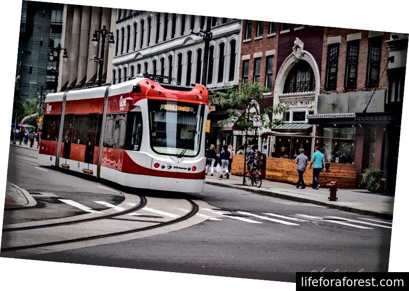 Bilde fra QLine Detroit