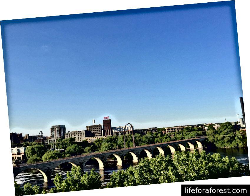 Utsikten fra The Guthrie