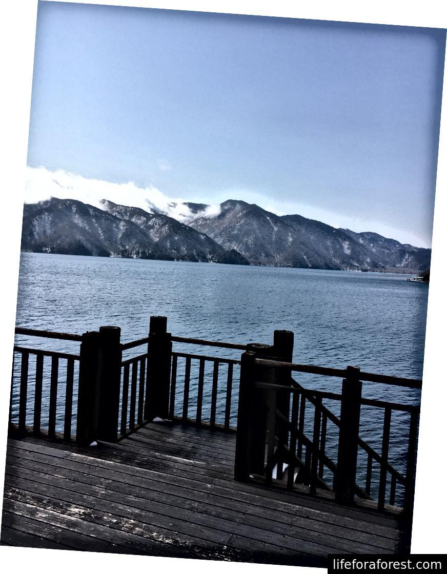Vaade Chūzenji järvele.