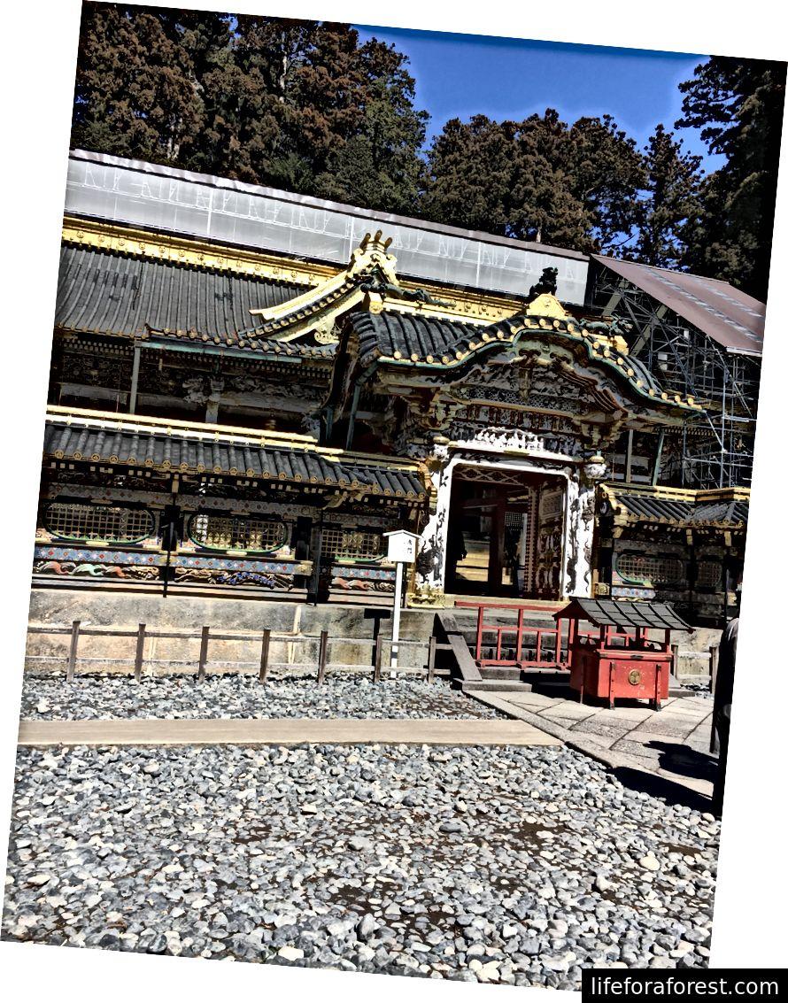 Nikkō Tōshō-gū peahoone