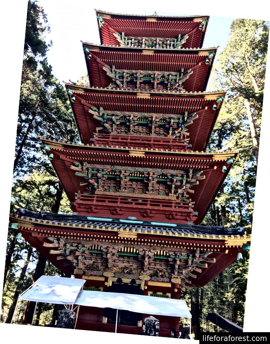 Nikkō Tōshō-gū-da katta pagoda.
