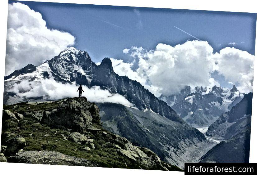 Trekking i Chamonix, Frankrike