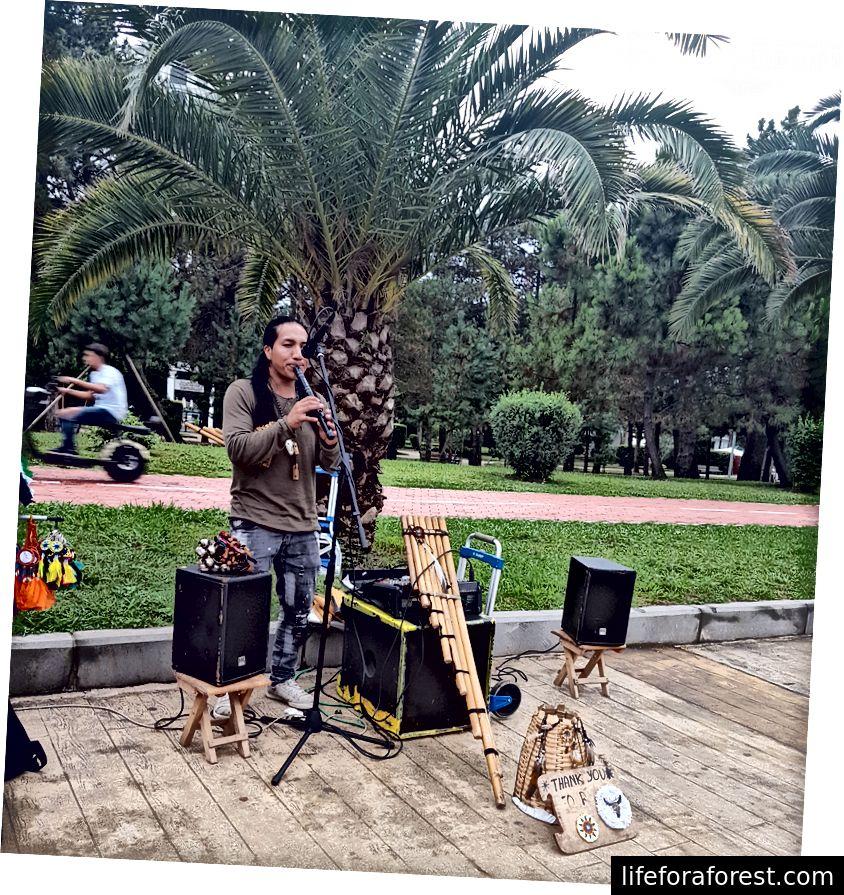På Batumi-boulevarden