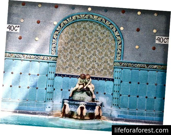 Gellert Baths i Budapest