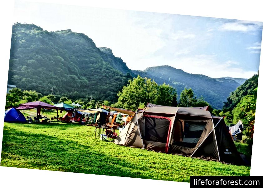 Camping ved Po Toi