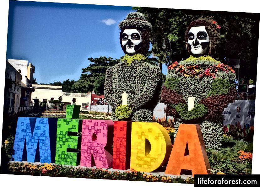 Mérida ble kåret til den amerikanske kulturhovedstaden for andre gang i 2017.