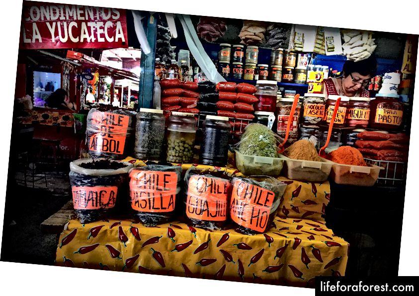 Få dine kulinariske suvenirer på et av bymarkedene.