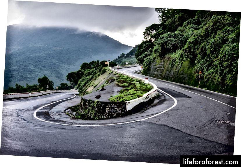 National Highway 1, Vietnam.