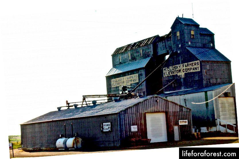 McClusky, Nord-Dakota. (Fotokreditt: Oriana Schwindt)