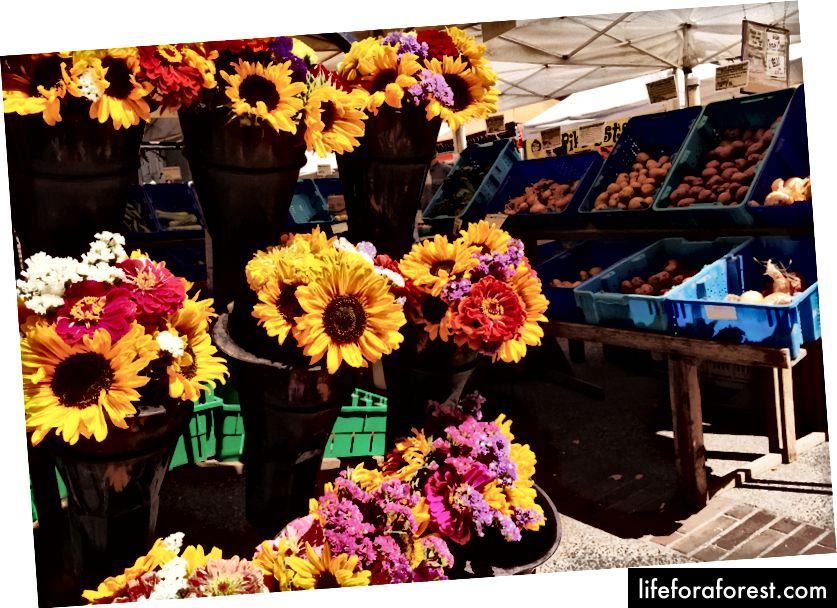 Suurepärane iganädalane Portlandi põllumeeste turg hoiab teid kogu hommiku hõivatud.