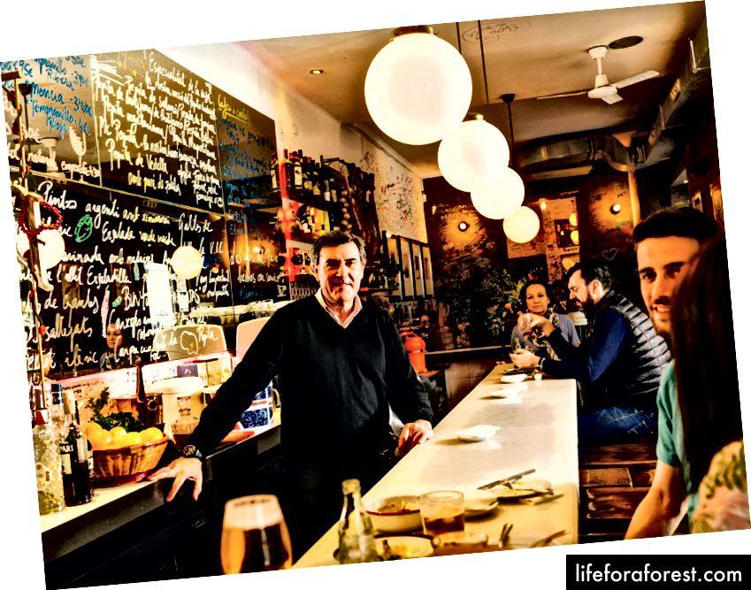 Den sjarmerende baren i La Pepita.