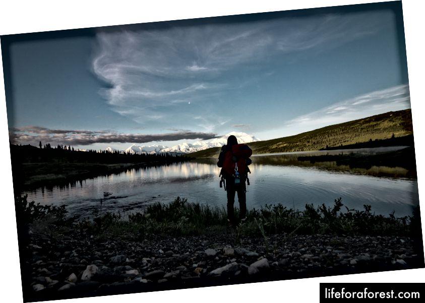 """""""Mann som står foran vannmassen"""" av Steve Halama på Unsplash"""