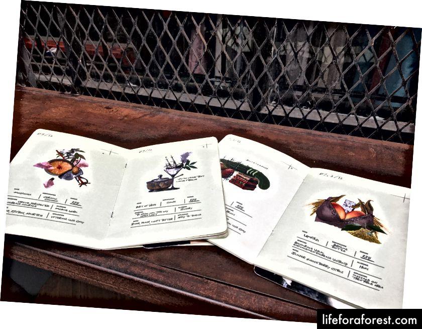 Koktejlové menu v Mootee | Melville