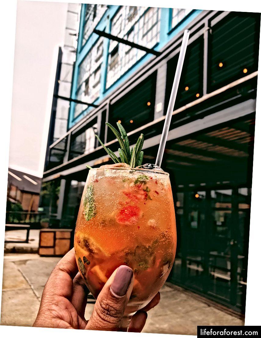 Botanisk inspirerte cocktailer på Joziburg Lane | CBD