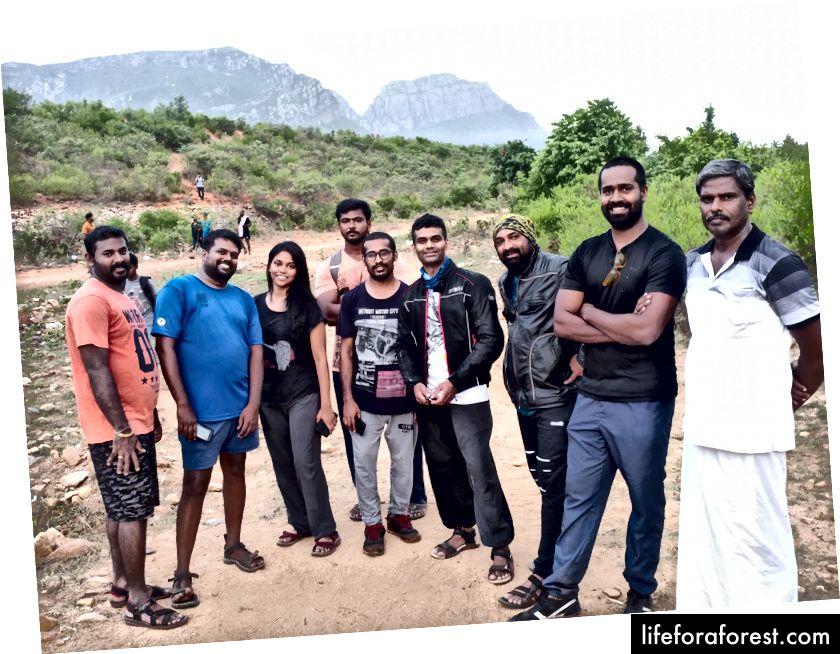 Mening Nagalapuramdagi birinchi trekking jamoam