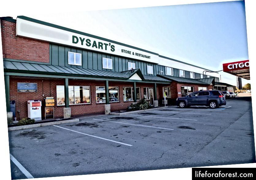 Dừng xe tải Dysart từ (Nguồn)