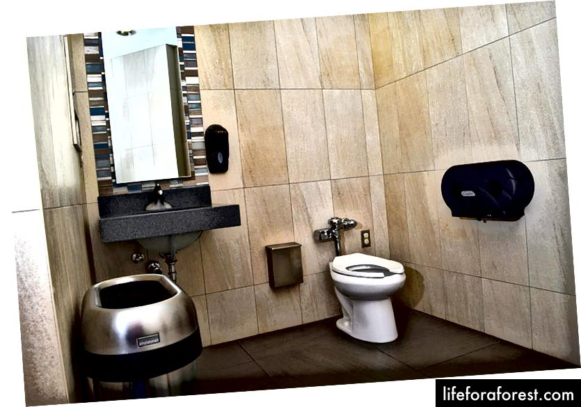 Phòng tắm SẠCH tại Nakh Bros (Nguồn)