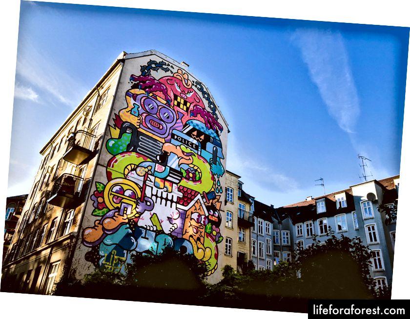 Bức tranh tường ở Nørrebro