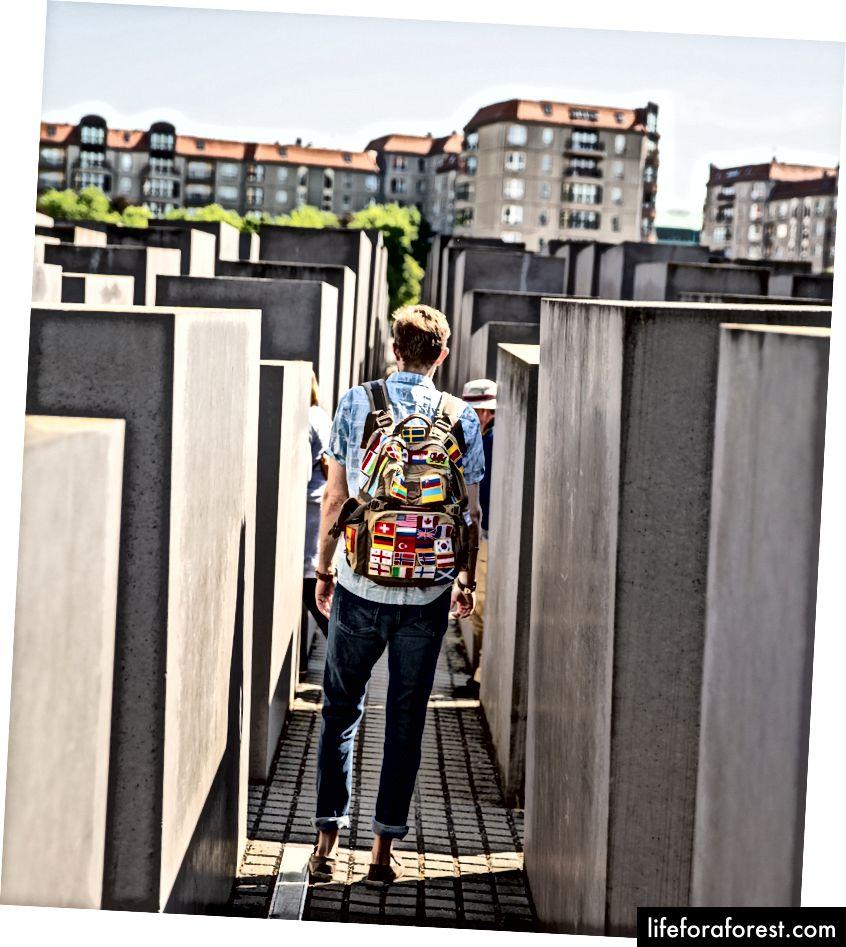 Minnesmerke for de myrdede jødene i Europa, Berlin © ChristopherLarson