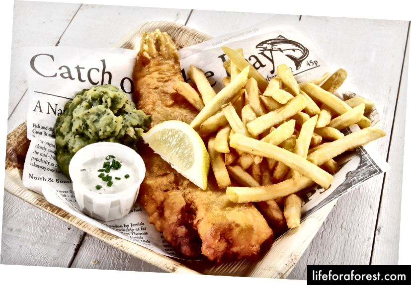 Риба и помфрит