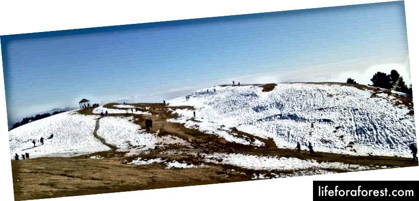 Fjerde punkt (toppen av Mukshpui)