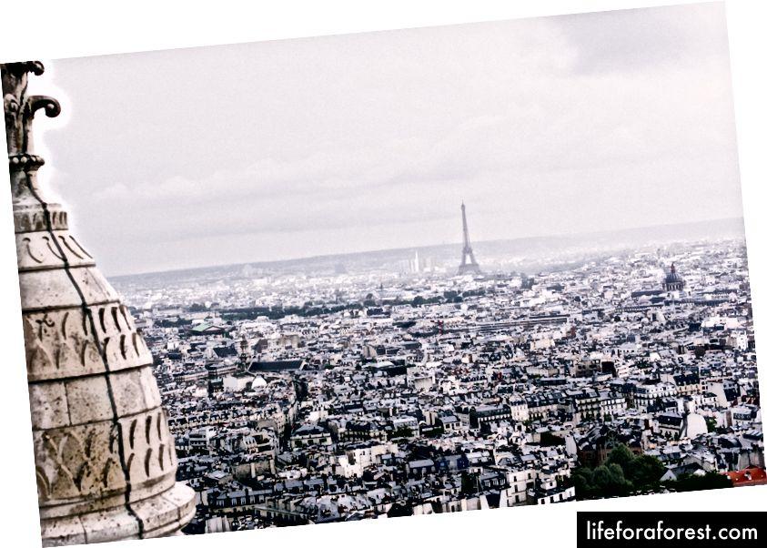 """""""Luftfoto av byen på dagtid"""" av Alice Donovan Rouse på Unsplash"""