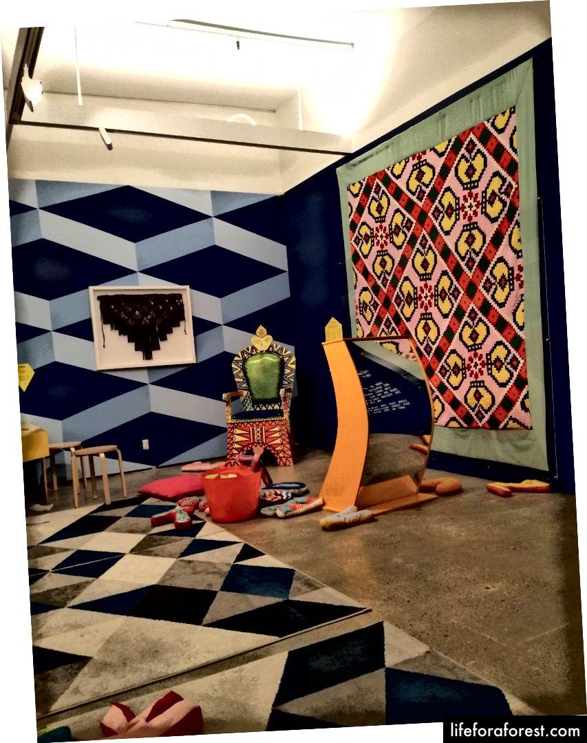 Hình: Một trung tâm học tập và vui chơi trẻ em tại bảo tàng Pataka, New Zealand. Nguồn: Tài sản gốc của tác giả. Xin vui lòng không sử dụng mà không có sự cho phép bằng văn bản.