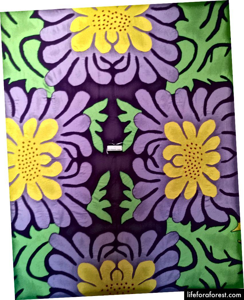 Hình: Nghệ thuật hoa Māori, Bảo tàng Pataka. Nguồn: tài sản gốc của tác giả. Xin vui lòng không sử dụng mà không có sự cho phép bằng văn bản.