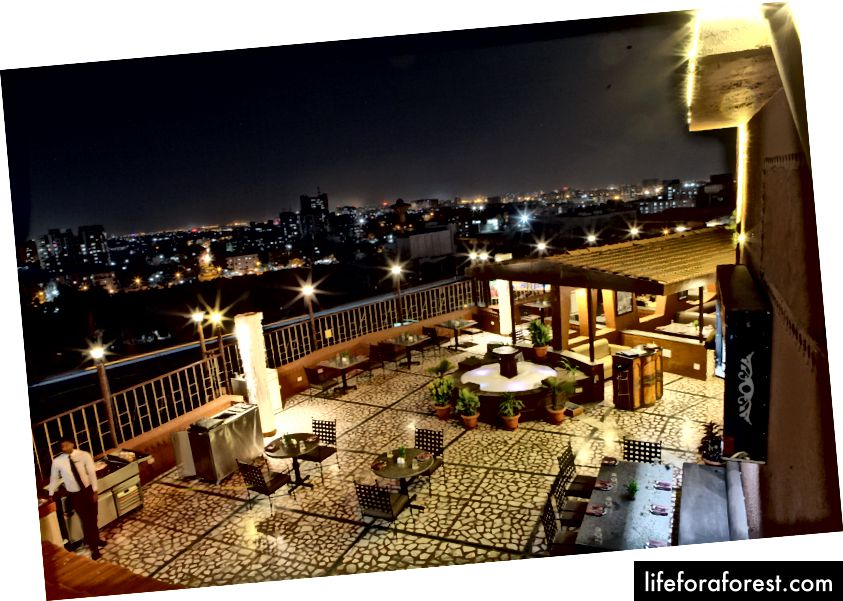 Rooftop - The Lime Tree Surat