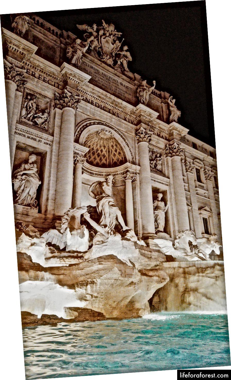 Moje ulubione zdjęcie na pewno (Fontana di Trevi)