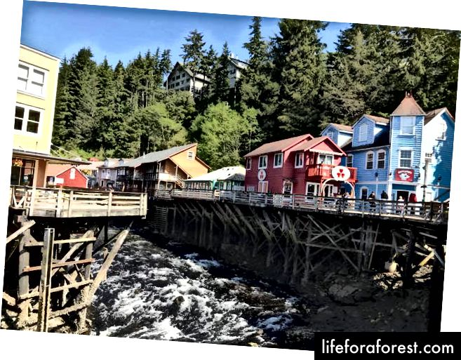 Creek Street, Ketchikan - Karl Sander