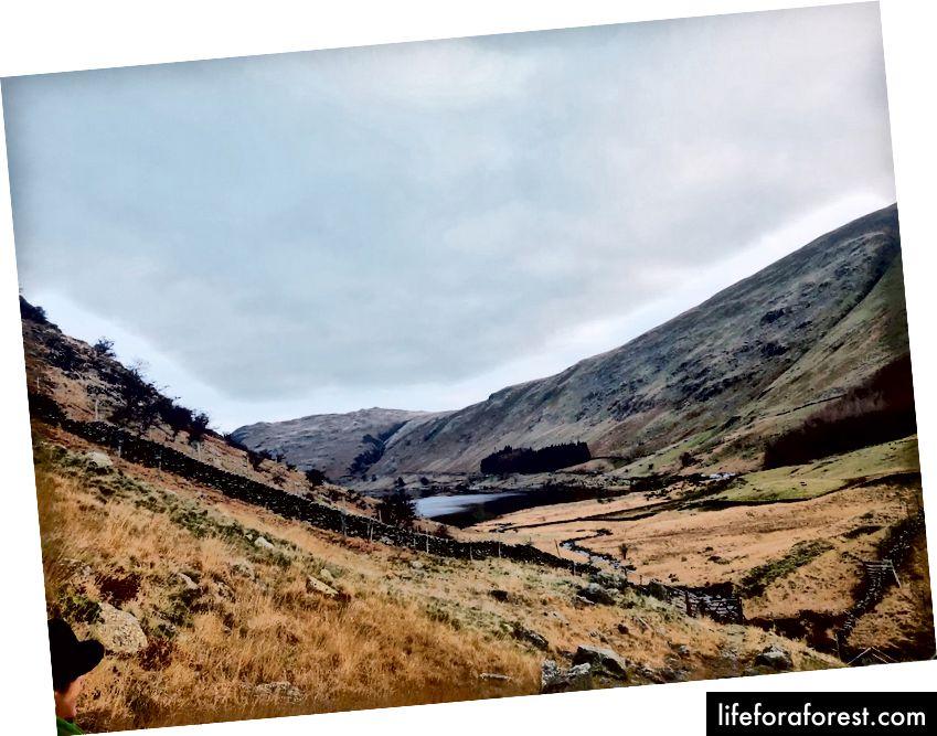Автор зняв на своєму iPhone кілька зображень пейзажу в Озерному окрузі, Великобританія, перш ніж вона зупинилася на кінцевому продукті.