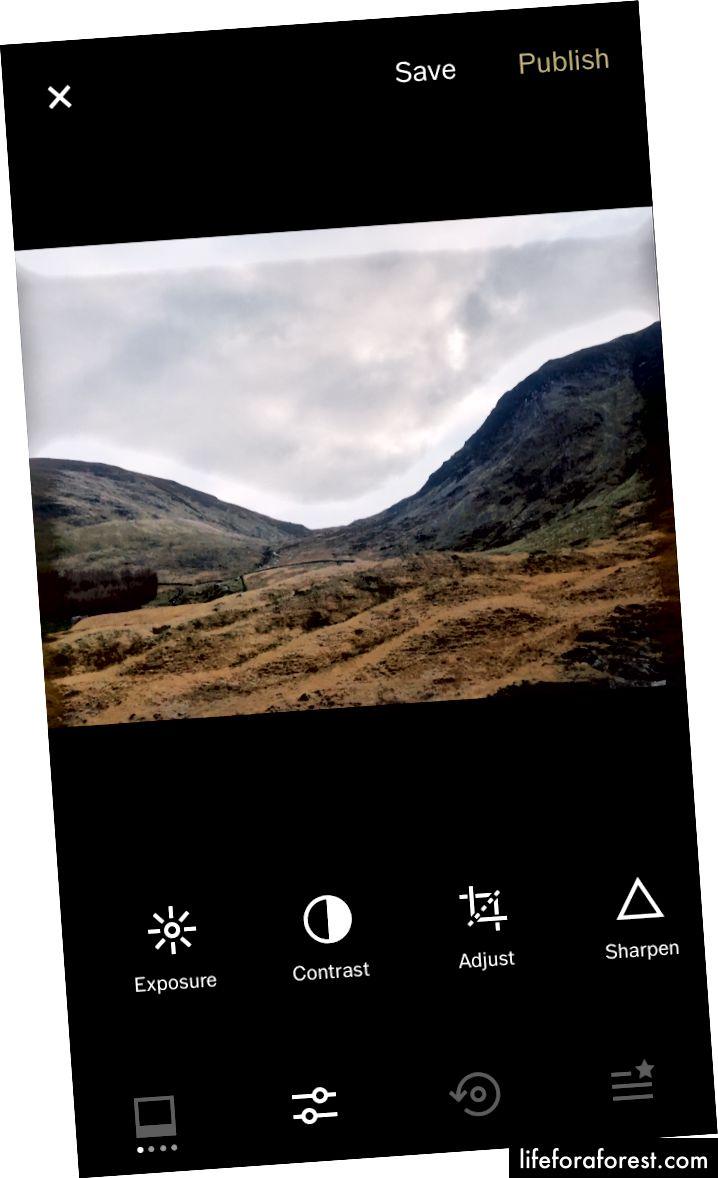 VSCO - це мій улюблений додаток для редагування фотографій.