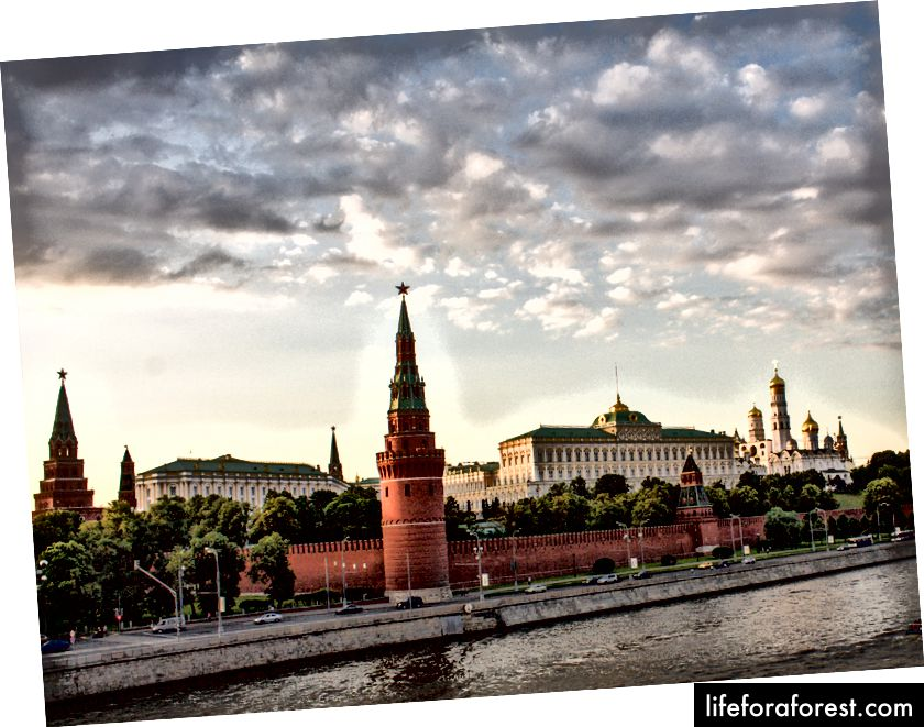 Điện Kremlin Moscow © ChristopherLarson