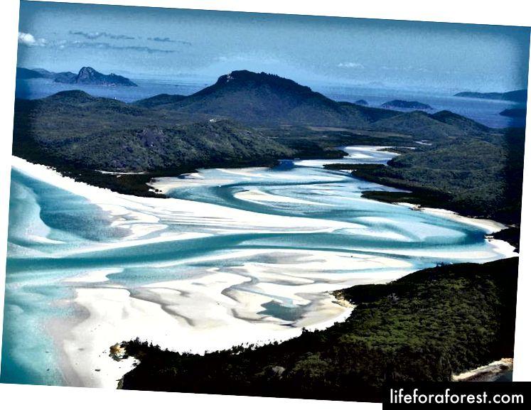 Whitehaven là bãi biển được chụp ảnh nhiều nhất ở Úc.