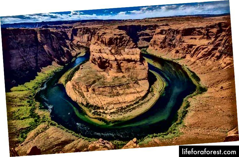 Supai Village se nachází na úpatí Grand Canyonu v indické rezervaci Havasupai.