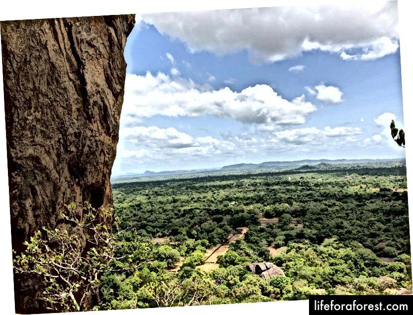 Utsikten fra Sigiriya