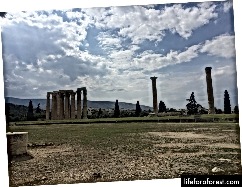 Chrám olympionika Zeus