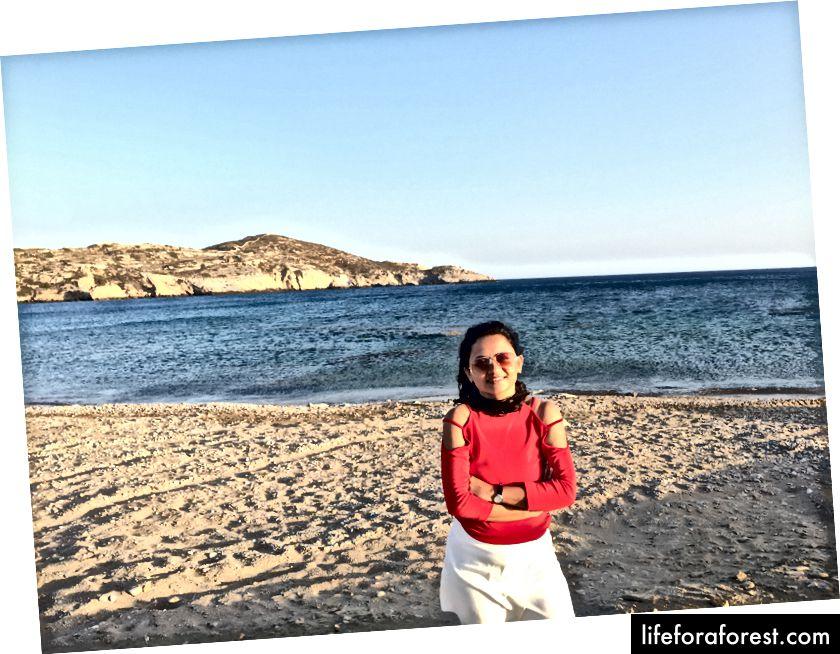Koumbara pláž