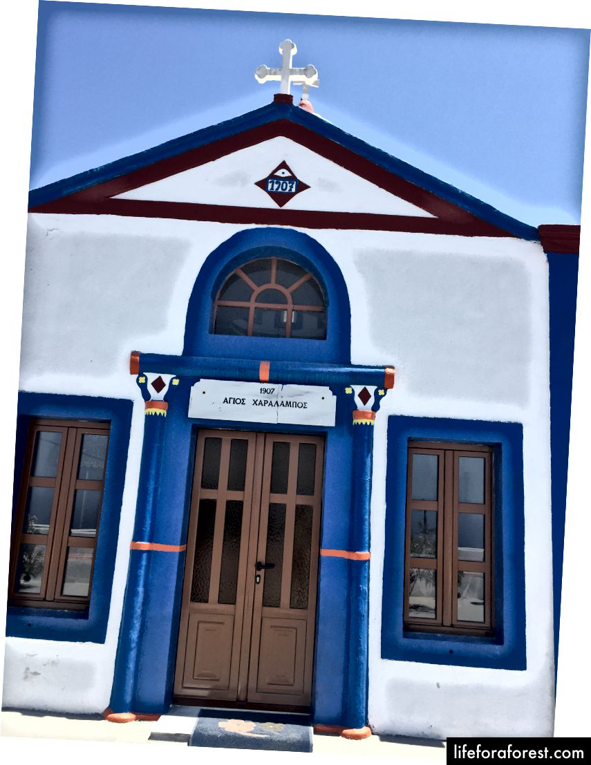 Kostel v Therasii