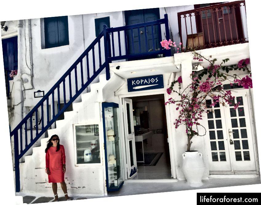 Prozkoumejte Malé Benátky, město Mykonos